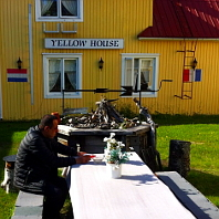 YellowHouse Hostel in Kiruna
